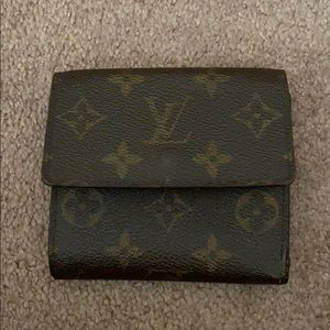 Authentic Louis Vuitton Elise Trifold Wallet